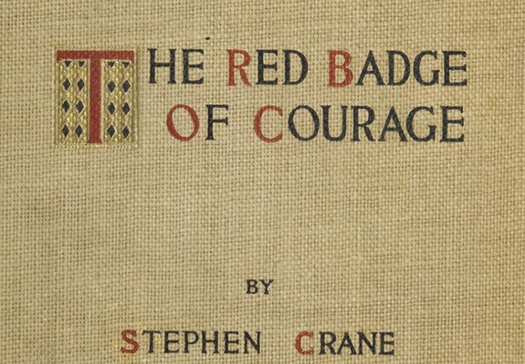 Red Badge of Courage (1895) cover