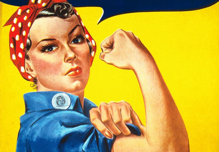 We Can Do It! Rosy the Riveter Poster.