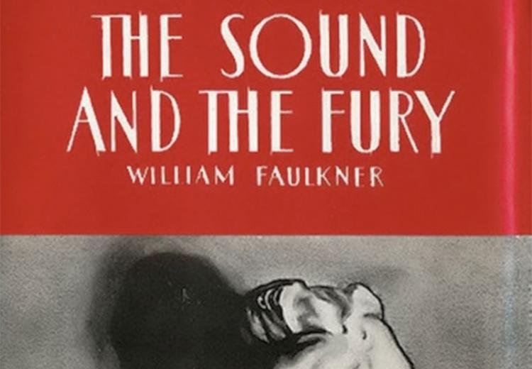 The Sound and the Fury, first edition.