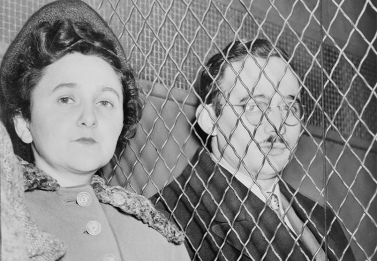Julius and Ethel Rosenberg were convicted of supplying the Soviet Union with nuclear bomb secrets, and subsequently executed.