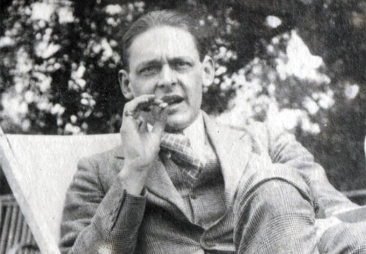 T.S. Eliot, author of The Love Song of J. Alfred Prufrock