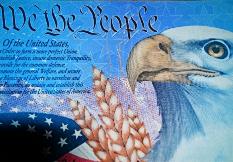 We the People image with Bald Eagle